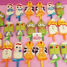 Toy Story Birthday Cake, 2nd Birthday Party Themes, My Birthday Cake, 4th Birthday, Birthday Party Favors, Fête Toy Story, Toy Story Cakes, Toy Story Party, Chocolate Covered Treats