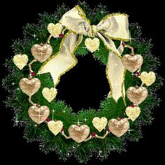 CHRISTMAS WREATH GIF