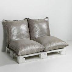 Sofa de sol lin métallisé 4/4, Am.Pm