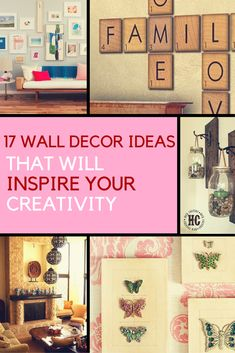Showcase your creativity with these 17 Wall Decor Ideas That Will Inspire Your Creativity. | Ideahacks.com