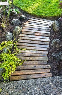 palette wood - Cool idea!