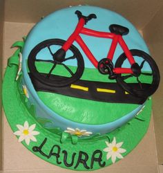 Bicycle Cake — Misc. Sports