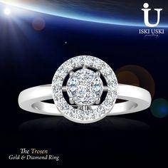 Diamond Rings Online at India's Best Online Shopping Site - IskiUski.com