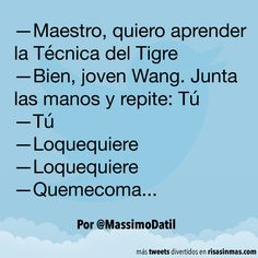 La Técnica del Tigre. #humor #risa #graciosas #chistosas #divertidas