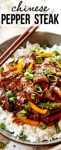 Chinese Pepper Steak, Beef Pepper Steak, Pepper Steak And Onions, Steak Tips, Beef Steak Recipes, Sliced Beef Recipes, Steak Stirfry Recipes, Carlsbad Cravings, Asian Beef