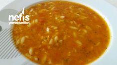 Şehriyeli Kırmızı Mercimek Çorbası