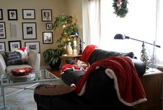 My happy place. Holiday Home Tour Sans the Tree My Happy Place, House Tours, Holiday, Christmas, Joy, Home Decor, Xmas, Vacations, Weihnachten