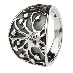 ShanOre Sterling Silver Tree of Life Ring
