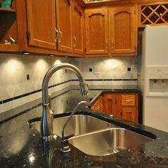 black granite countertops with tile backsplash black countertop backsplash ideas backsplash kitchen model