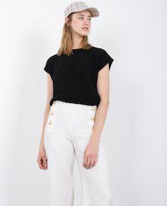 KAUF DICH GLÜCKLICH Nuria Top black | KAUF DICH GLÜCKLICH ONLINE SHOP #fashion #women #spring #summer