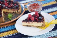 Receita de Cheesecake de forno. Descubra como cozinhar Cheesecake de forno de maneira prática e deliciosa com a Teleculinária!