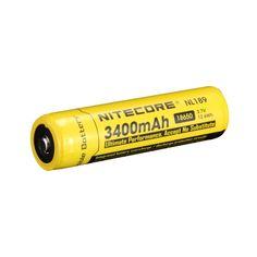 Nitecore 18650 Li-ion Battery 3400mAh NL189