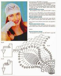 6 patrones de gorros crochet   Todo crochet