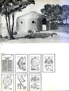 A Buckminster Fuller DYMAXION unit (uploaded by nclave, via Flickr)  #BuckminsterFuller #Dymaxion #prefab