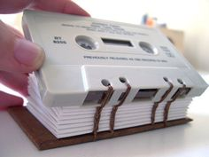 Creative Reuses of Cassette Tapes and Cassette Tape Cases 9 Upcycled Crafts, Repurposed, Vhs Crafts, Cool Things To Make, Reuse, Cassette Tape, Cases, Mixtape, Book