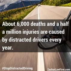 Distracted Driving, Personal Injury Lawyer, Driving School, Texting, Number One, Phoenix, Georgia, Safety, Death