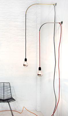 Hangar wall lamp via Supergrau