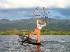Inle Lake fisher