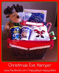 25 christmas eve boxes to make hamper couples and christmas eve christmas eve hamper by nappy days 2199 christmas hamperchristmas diy solutioingenieria Image collections