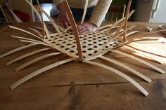 How to make a basket: weaving steps