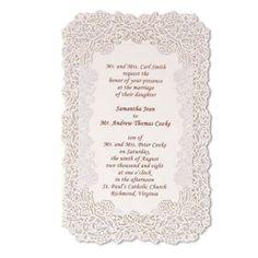 Idea for invitations