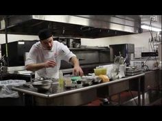 Andrew Dubrule practicing for the S.Pellegrino Almost Famous Chef Competition Jan.22-23, 2013 #AFChe