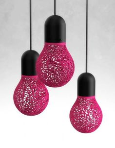 Called 'lace lamps,' these light fixtures were made on a 3D printer, and are just one example of a new wave in 3D printed home decor.