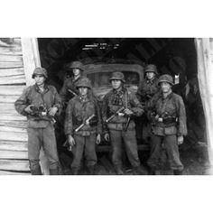 Division Das Reich Entrée en Russie 1941- Kameraden - Tirage Photo 10x15