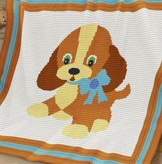 Crochet Pattern | Baby Blanket / Afghan - Ginger