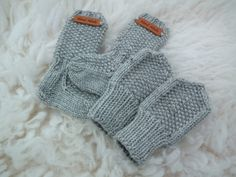 Villasukat vauvalle - ohje Fingerless Gloves, Arm Warmers, Knit Crochet, Baby Boy, Knitting, Crocheting, Crafts, Crochet Ideas, Kids