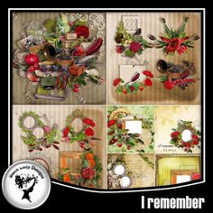 I remember Full pack by Black lady Designs