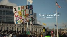 Signs of the Times explores the art of protest and why people choose the messages they do to put on their signs. My hope is for this to be the first in a series…