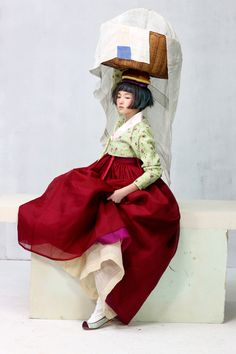 한복 hanbok, Korean traditional clothes - Vogue