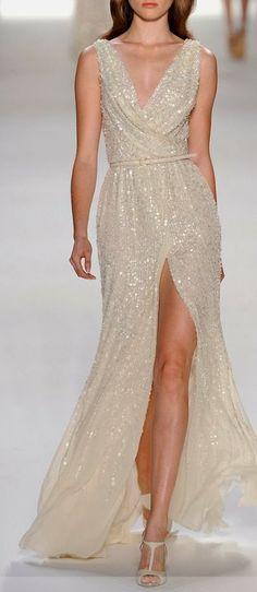 Gorgeous White Long Dress Fashion