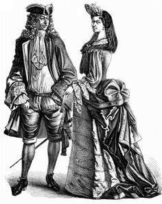Французский костюм xviii века