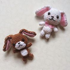 Cute Sanrio Sugar Bunnies - Free Amigurumi Pattern