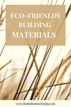 18 Eco-Friendly Building Materials that Help You Save Money and The Earth. Using Eco-Friendly materials is hugely beneficial in the long run. Building a green home reduces carbon emissions significantly and saves energy, which results in saving money on energy bills. #ecofriendlymaterials #ecofriendlybuildingmaterials #buildingmaterials #greenbuildingmaterials #greenhomeconstruction #ecobuildingmaterials