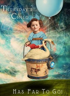 Thursday's Child © Beth Todd 2016 - All Rights Reserved Created with Miles Beyond The Moon's 'Dream Big' http://www.mischiefcircus.com/shop/product.php?productid=23483&cat=290&page=1