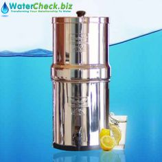 Our Gravity Fed Water Filters are some of the most advanced gravity water filters on the planet. Buy now at: http://watercheck.biz/water-shop/product/63-big-berkey-gravity-fed-stainless-steel-water-filter-purifier