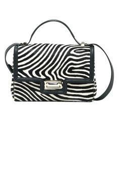 BEST FALL BAGS 2013  THE ANIMAL PRINT Max Mara Printed Calf-Hair Handbag