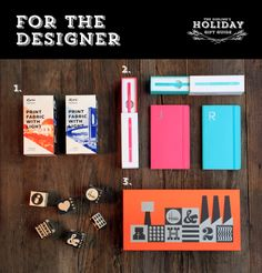 Just in time for cyber monday is The Dieline's Holiday Gift Guide - For The Designer.  Click to see more on The Dieline.