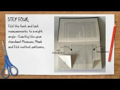 Bookami® Tutorials - How To Fold A Combination Book Folding Pattern - YouTube