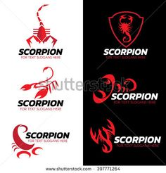 Find Red Scorpion Logo Vector Set Art stock images in HD and millions of other royalty-free stock photos, illustrations and vectors in the Shutterstock collection. Thousands of new, high-quality pictures added every day. Art Design, Logo Design, Graphic Design, Scorpion, Logo Foto, Initials Logo, Relentless, Fashion Photo, Slogan