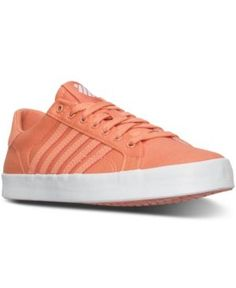 641add0c3126ed K-Swiss Women s Belmont SO T Sherbert Casual Sneakers from Finish Line Shoes  - Finish Line Athletic Sneakers - Macy s