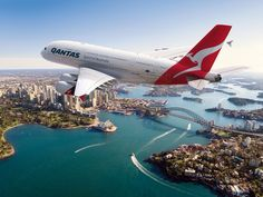 Sydney (Capital City of New South Wales State of Australia) with the iconic airline QANTAS Qantas A380, Qantas Airlines, Best Airlines, Airbus A380, Boeing 747, Alaska Airlines, Air New Zealand, Virgin Atlantic, Travel Music