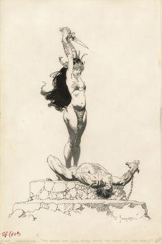 Get Ready To Appreciate The Fantasy Art of Frank Frazetta on a ...
