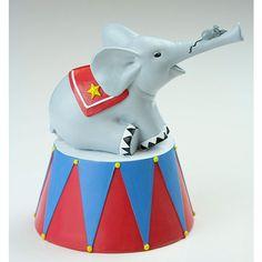 Sparebøsse Cirkuselefant fra Friisenborg