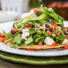 Grilled Chicken Tostada Salad - The Cheesecake Factory - Zmenu, The Most Comprehensive Menu With Photos