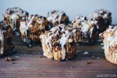 gluten free cinnamon roll muffins