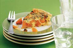 Kruidige pompoenquiche met koriander - Recept - Allerhande